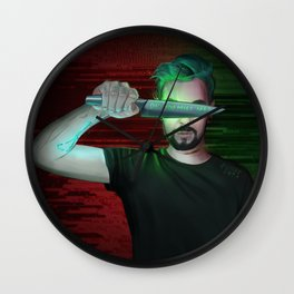 Antisepticeye Wall Clock