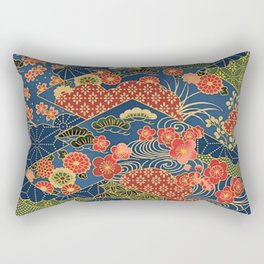 Japan Quilt Rectangular Pillow