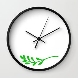 Judge Me When You're Perfect Wall Clock
