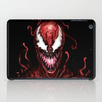 carnage iPad Cases featuring Carnage by dariiy