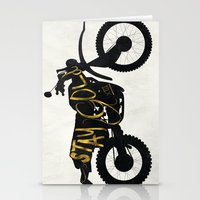 stay gold Stationery Cards featuring Stay Gold by Ride The Storm