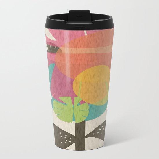 La Flor Metal Travel Mug