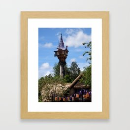 MAGIC KINGDOM: Rapunzel's Tower (2) Framed Art Print