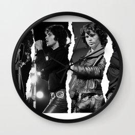 Morrison Jim  Poster,Celebrities poster, Retro Poster Wall Art Mixer Wall Clock