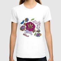 cannabis T-shirts featuring Cannabis Bunnies by Ri 13