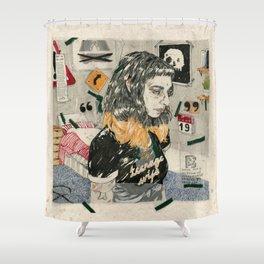 Teenage wife Shower Curtain