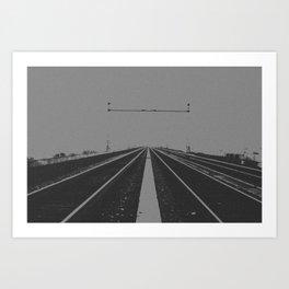 Tracks Less Travelled Art Print