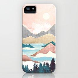 Lake Sunrise iPhone Case