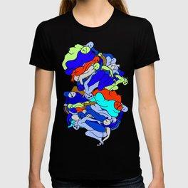 Sleepy Heads - Sapphire Blue T-shirt