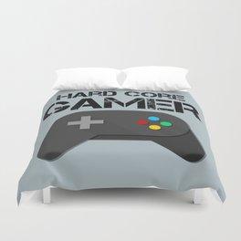 Game Console Black Joystick Duvet Cover