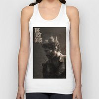 last of us Tank Tops featuring The Last Of Us by MCMLXXXV DESIGN