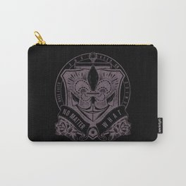 Vintage Design Have Faith And Keep On Carry-All Pouch