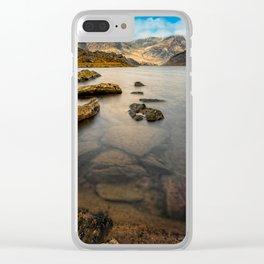 Ogwen Lake Snowdonia Clear iPhone Case