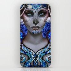 Blue Death iPhone & iPod Skin