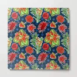 Australian Native Floral Print Metal Print