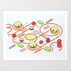 Tasty Visuals - Squeeze Me II Art Print