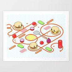 Tasty Visuals - Squeeze Me II Art Print