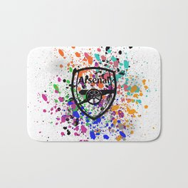 Arsenal Watercolor Bath Mat