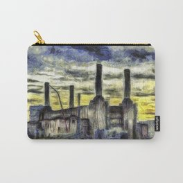 Battersea Power Station Art Carry-All Pouch