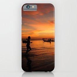 Sunrise on Koh Tao Island in Thailand iPhone Case