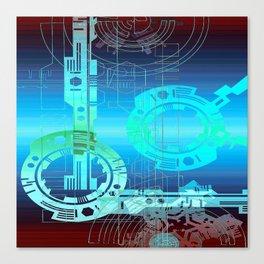 Teknico Canvas Print