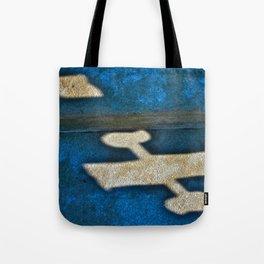 Banner Plane Tote Bag