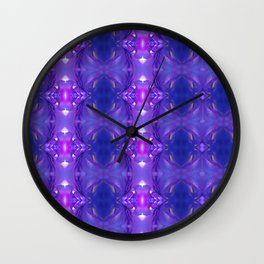 Purple empire Wall Clock