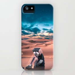We try to hide our feelings forgetting that our eyes speak. iPhone Case