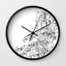 Transitions Distilled Wall Clock