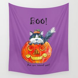 Boo! Wall Tapestry