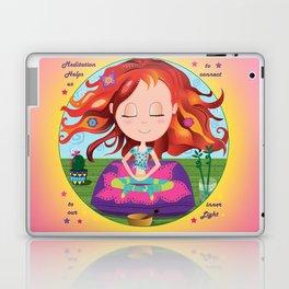 Meditation Om Zen Laptop & iPad Skin