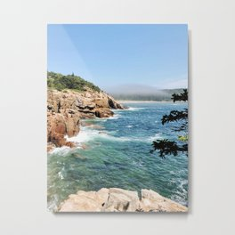 Overlook in Acadia National Park Metal Print