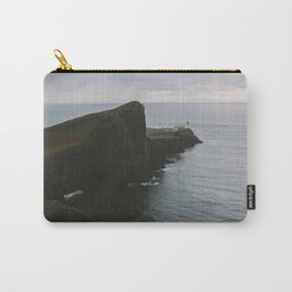 Neist Point Lighthouse at the Atlantic Ocean - Landscape Photography Carry-All Pouch