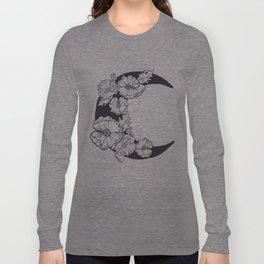 Midnight Poppies Long Sleeve T-shirt