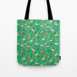 Flamingoes! Tote Bag