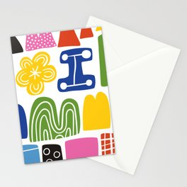 So many colors to be happy Stationery Cards