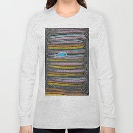 Not Whaling / Imperfect Lines Long Sleeve T-shirt