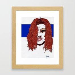 Beauty or a Beast? Framed Art Print