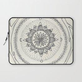 Antler Mountain Mandala Laptop Sleeve