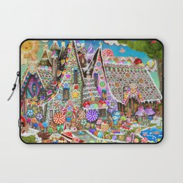 The Gingerbread Mansion Laptop Sleeve