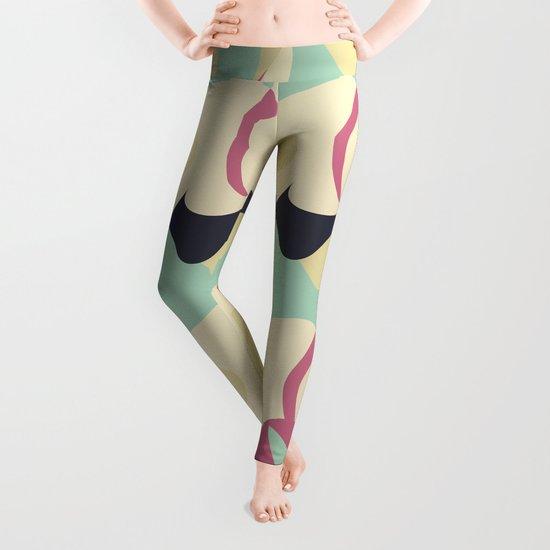 Copy and Paste VI Leggings