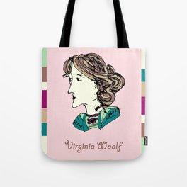 Virginia Woolf - hand-drawn portrait Tote Bag