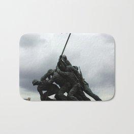 Marine Corps War Memorial Bath Mat