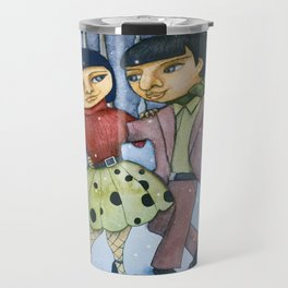 Winter Dance Travel Mug