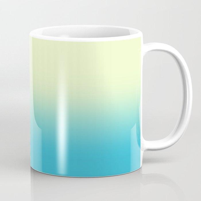 Sunny Disco Ball Ombre Coffee Mug