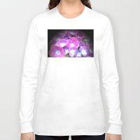 hydrangea Long Sleeve T-shirts featuring Hydrangea by Trevor Jolley
