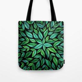 Night Leaves Tote Bag