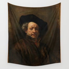 Rembrandt van Rijn - Self-portrait Wall Tapestry