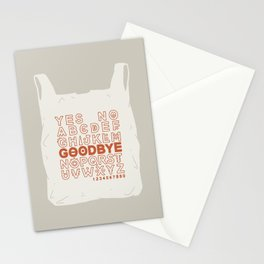 Plastic Bag Ouija Board Stationery Cards