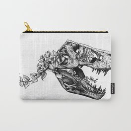 Jurassic Bloom - The Rex.  Carry-All Pouch